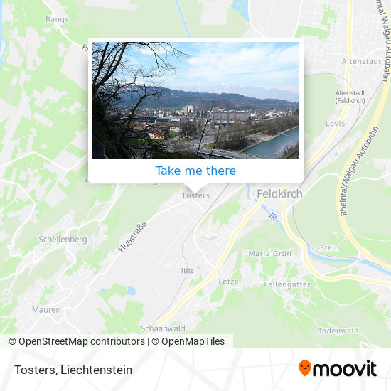 Tosters map