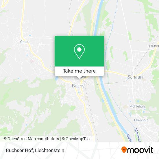 Buchser Hof map