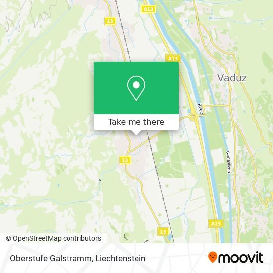 Oberstufe Galstramm map
