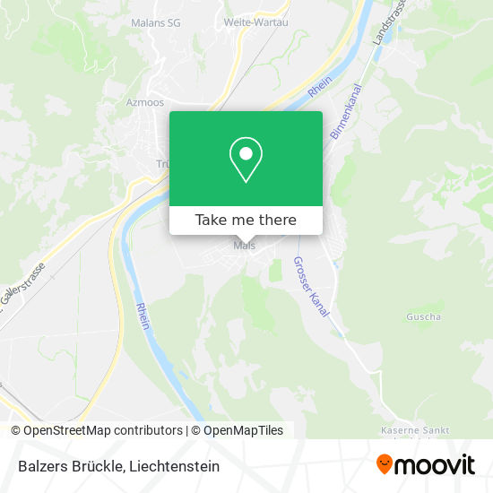 Brückle map