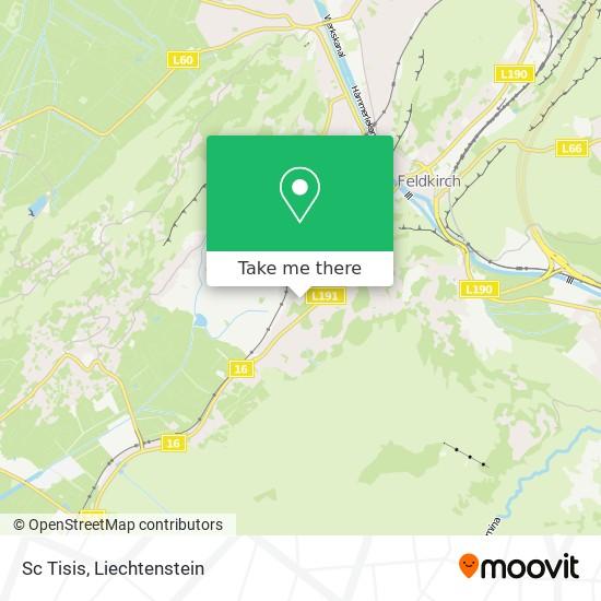 Sc Tisis map