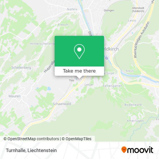 Volksschule Tisis map