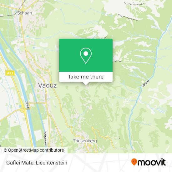 Gaflei Matu map