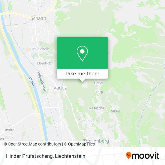 Hinder Prufatscheng map