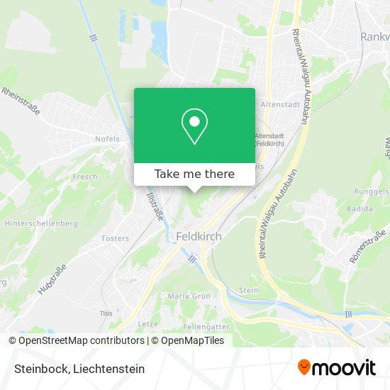 Steinbock map