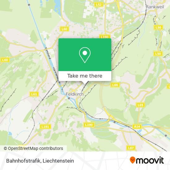 Bahnhofstrafik map