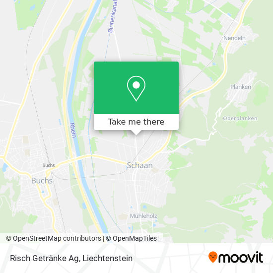 Risch Getränke Ag map