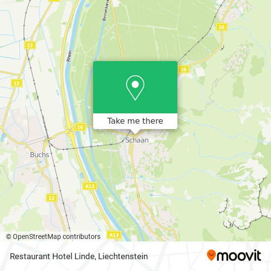 Restaurant Hotel Linde map