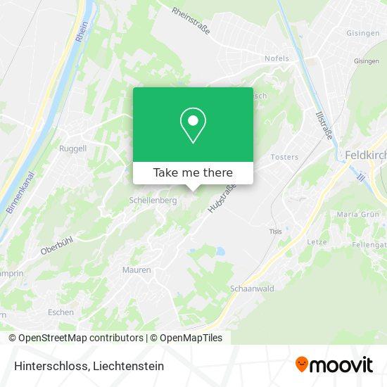 Hinterschloss map