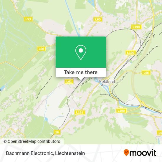 Bachmann Electronic map