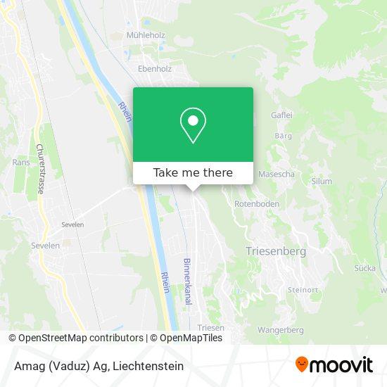 Amag (Vaduz) Ag map