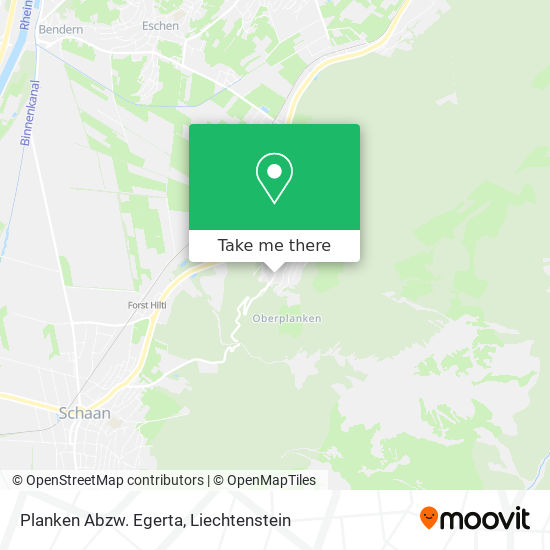 Abzw. Egerta map
