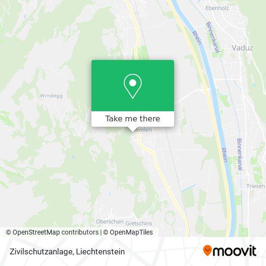 Zivilschutzanlage map