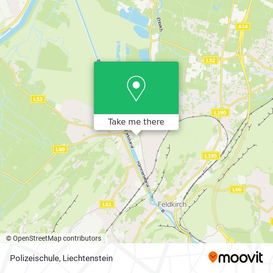 Polizeischule map