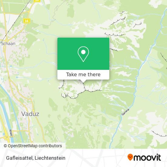 Gafleisattel map