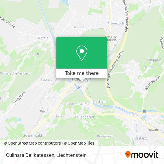 Culinara Delikatessen map