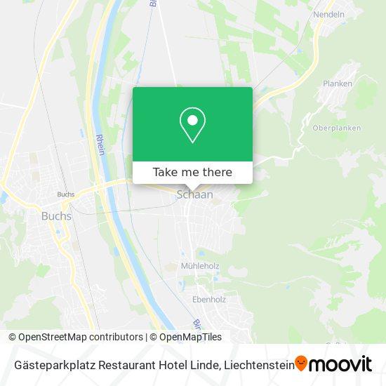 Gästeparkplatz Restaurant Hotel Linde map