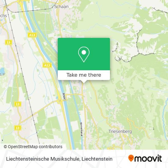 Liechtensteinische Musikschule map