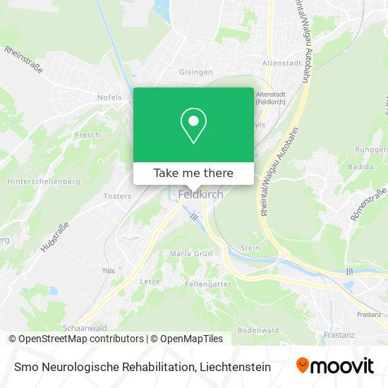 Smo Neurologische Rehabilitation map