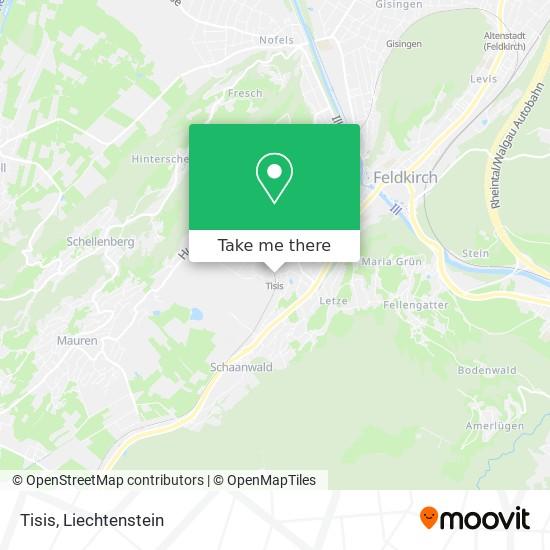 Tisis map