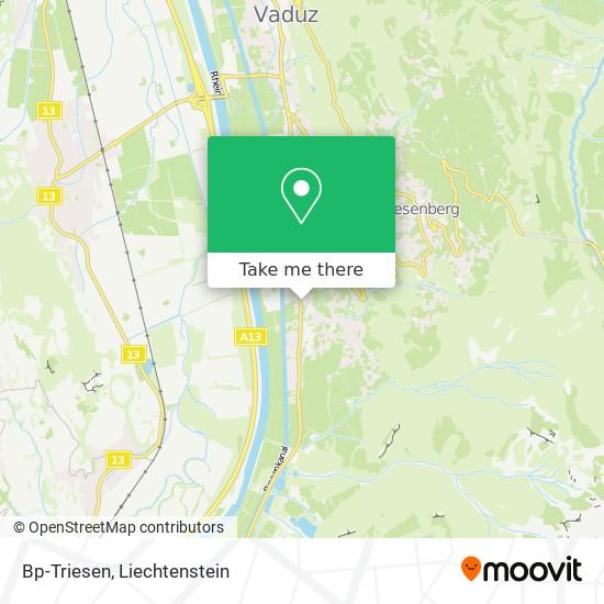 Bp-Triesen map