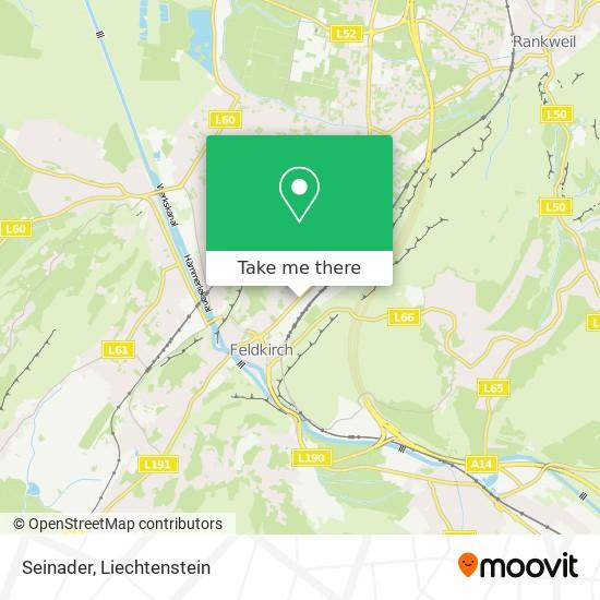 Seinader map