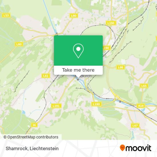 Shamrock map