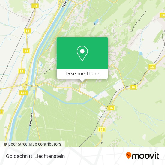 Goldschnitt map