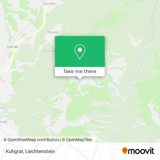 Kuhgrat map