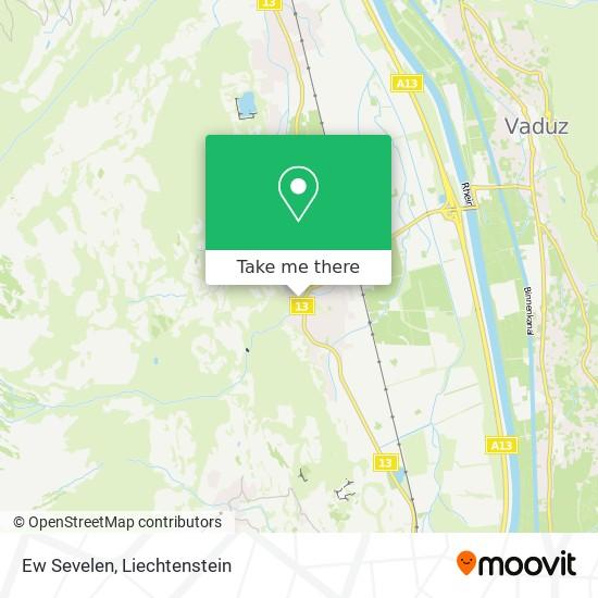 Ew Sevelen map