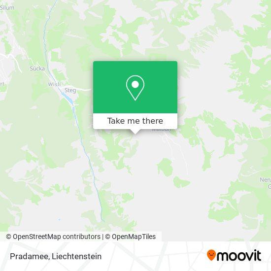 Pradamee map