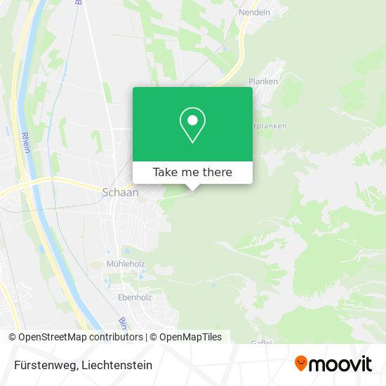 Fürstenweg map