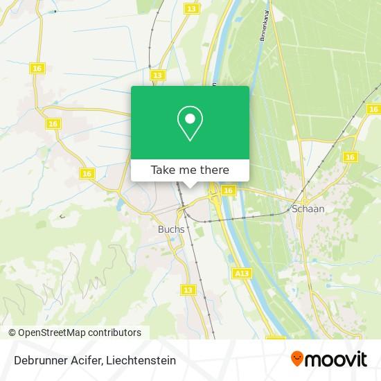 Debrunner-Acifer map