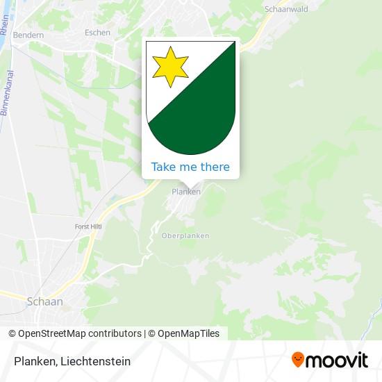 Planken map