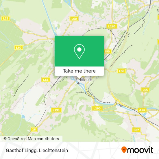 Gasthof Lingg map