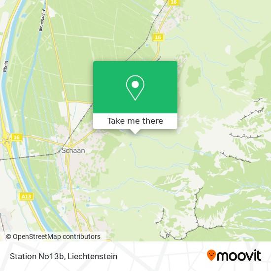 Station No13b map