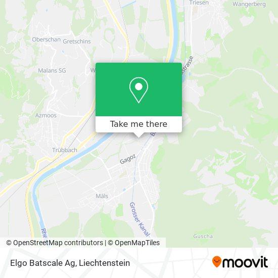 Elgo Batscale Ag map