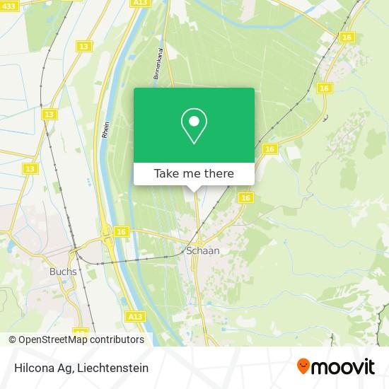 Hilcona Ag map