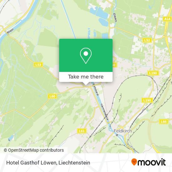 Hotel Gasthof Löwen map