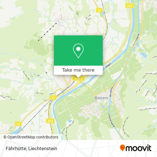 Trübbach Fährhütten map