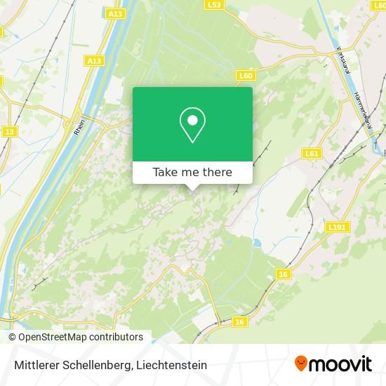 Mittlerer Schellenberg map