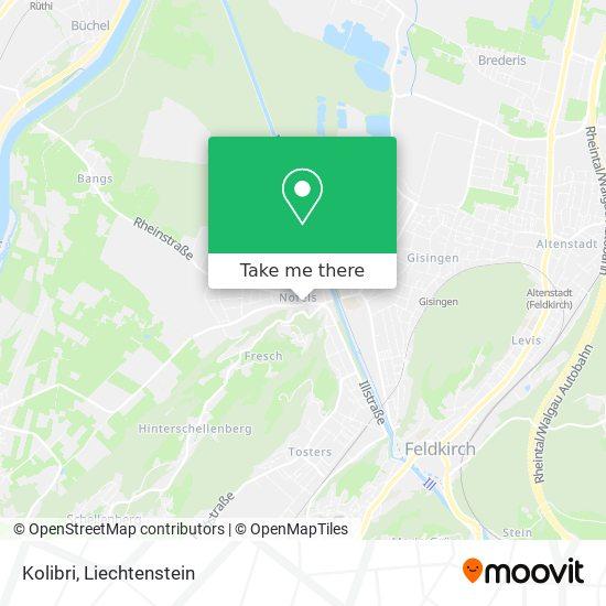 Kolibri map