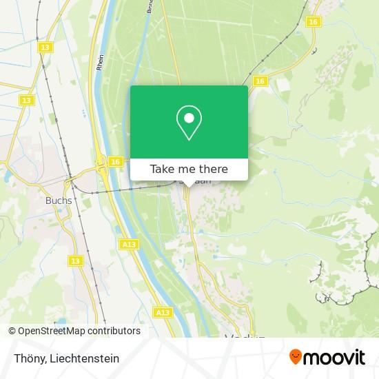Thöny map