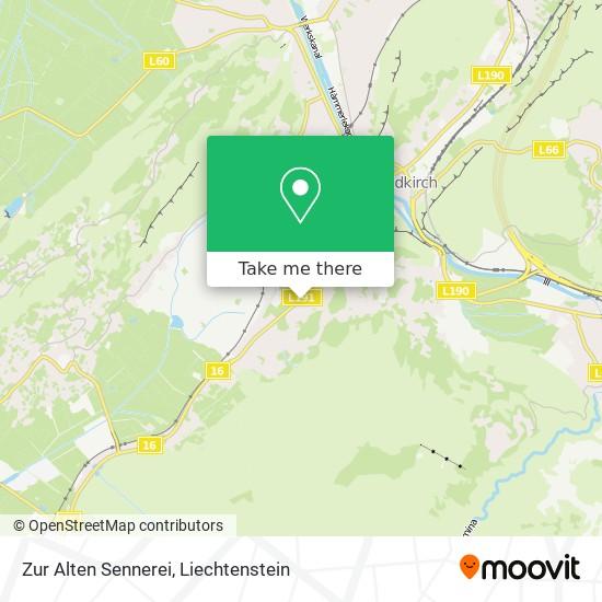 Zur Alten Sennerei map