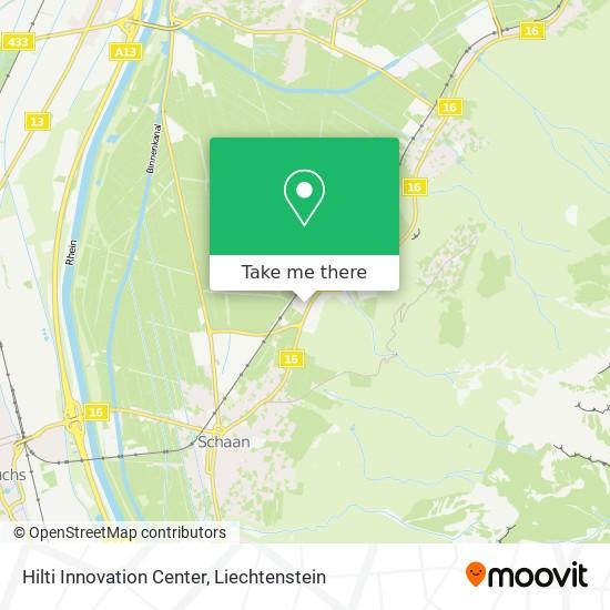 Hilti Innovation Center map