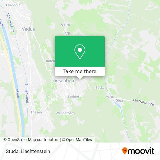 Studa map