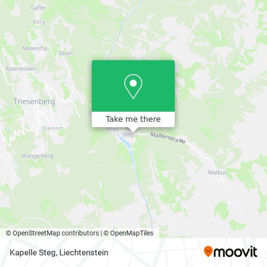 Kapelle Steg map