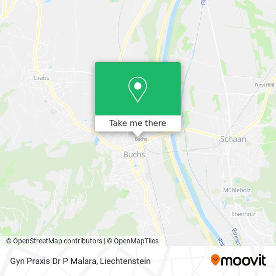 Gyn Praxis Dr P Malara map