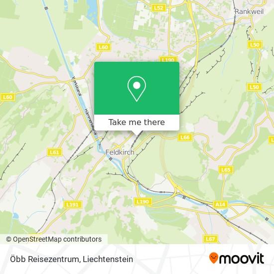 Öbb Reisezentrum map