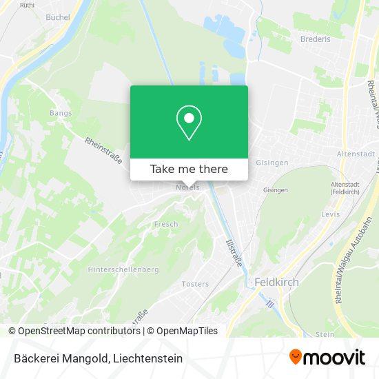 Bäckerei Mangold map